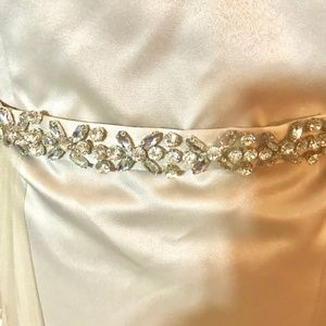Custom Dresses - Champagne Colored Prom/Evening Gown